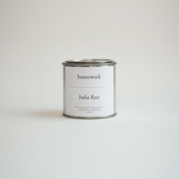 India Rose Candle by homework
